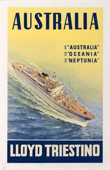 'Australia' - Lloyd Triestino - 1951 9austr10