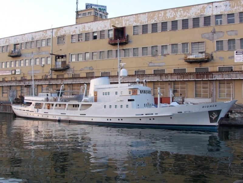 'Dionea' - Nav. Alto Adriatico - 1962 _dione10
