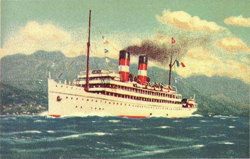 'Stella d'Italia' -  anche Cosulich - 1904 Stella11
