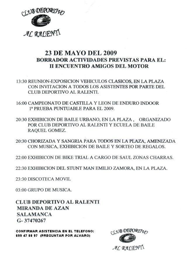 II Encuentro Amigos del Motor - 23/5/2009 - Miranda de Azan (Salamanca) 11010