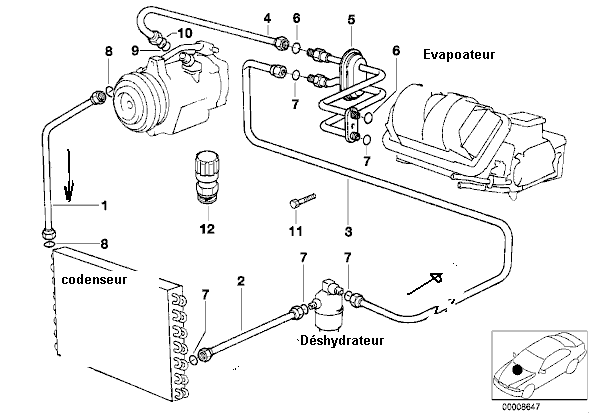 bmw e34 525tds m51 an 1994 surchauffe moteur r solu page 1. Black Bedroom Furniture Sets. Home Design Ideas