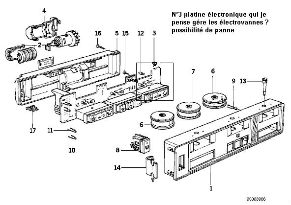 [ E32 730i M30 an 1987 ] plus de chauffage du coté conducteur (résolu) 12_e_310