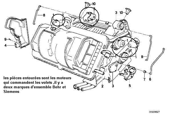 [ E32 730i M30 an 1987 ] plus de chauffage du coté conducteur (résolu) 14_mot10