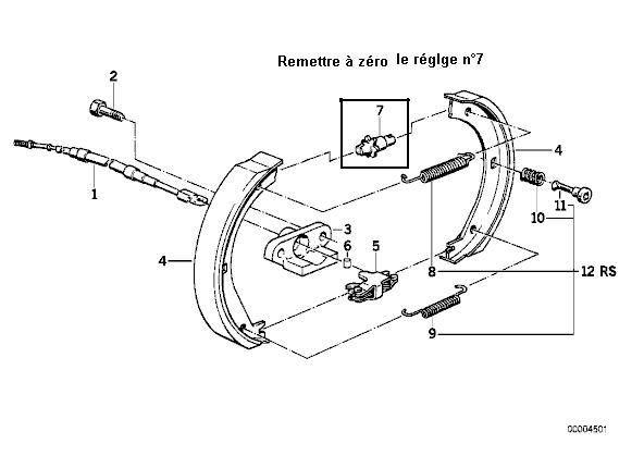 [ BMW E36 325i an 1993 ] comment changer systeme de cables de frein a main ? 2_garn11