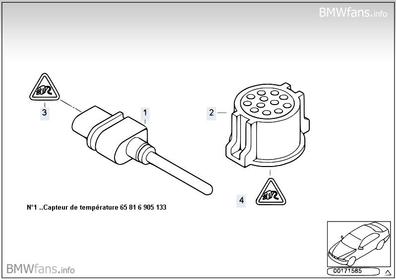 bmw e39 530d an 2001 probl me sonde de temperature exterieur. Black Bedroom Furniture Sets. Home Design Ideas