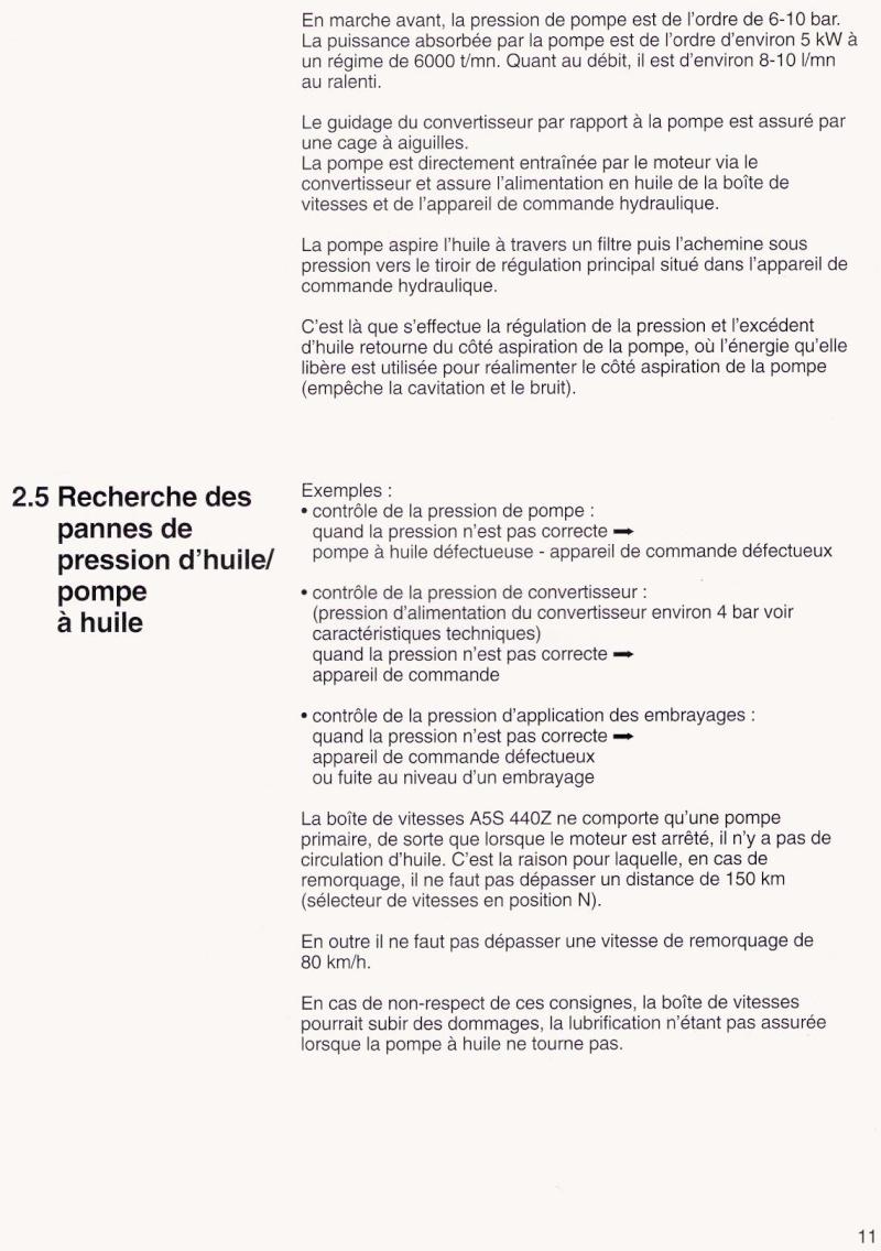 [ fiche technique BMW ] Boite de vitesses automatique 5 rapports A5S 440Z Numari63