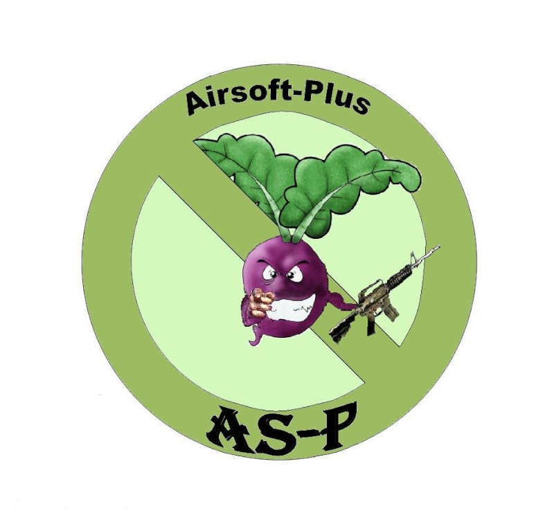 Le patch  airsoft-plus Logo2-10
