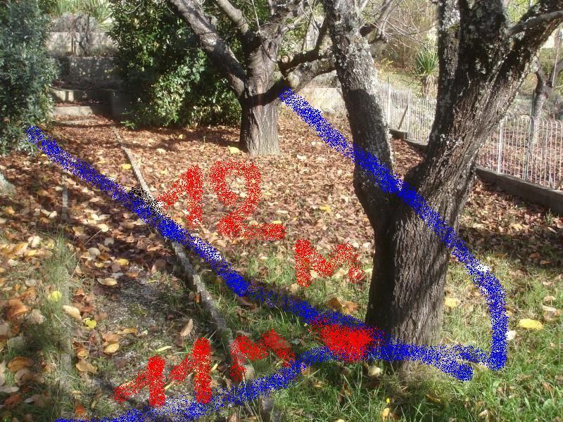 Petite recherche dans le jardin Isis210