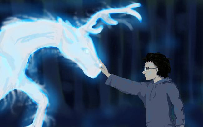 Clase de Defensa Contra las Artes Oscuras: Nº3 Harry_10