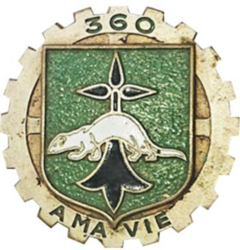 """Insigne """"A MA VIE"""" 360_4010"""