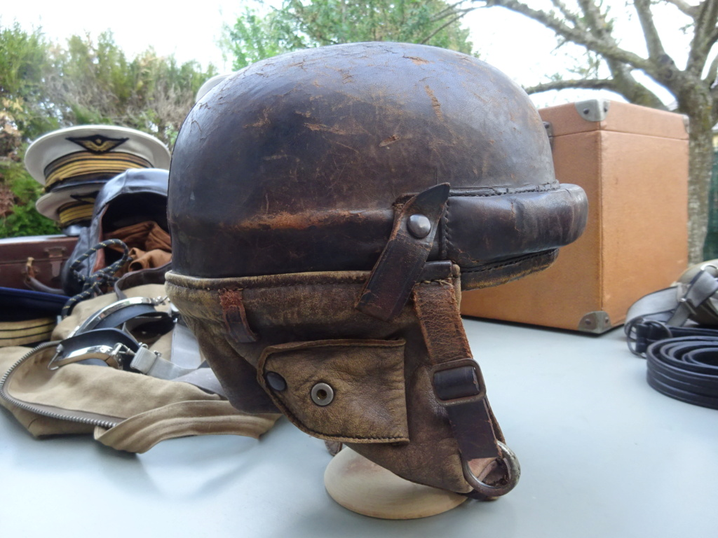 Casque pilote de chasse France 40 Dsc01321