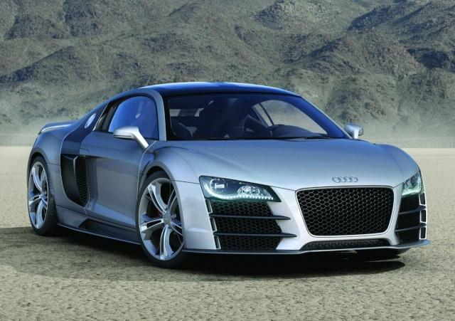 Audi R8 V12 TDI Production Model Development Halted 90801112