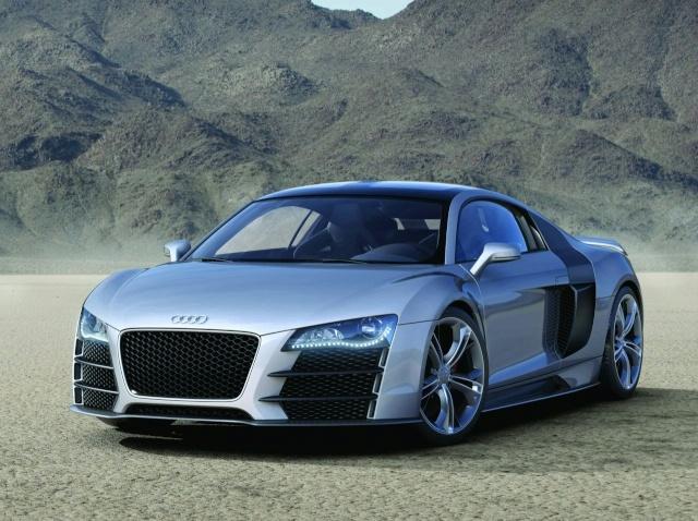 Audi R8 V12 TDI Production Model Development Halted 90801114