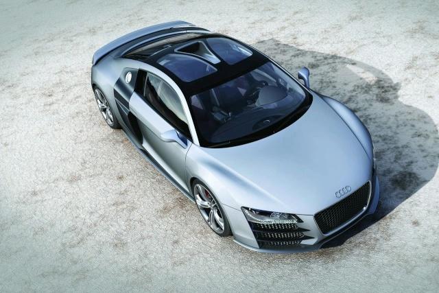 Audi R8 V12 TDI Production Model Development Halted 90801116