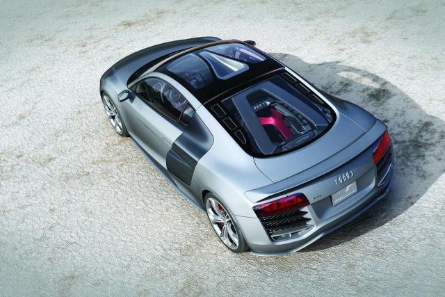 Audi R8 V12 TDI Production Model Development Halted 90801117