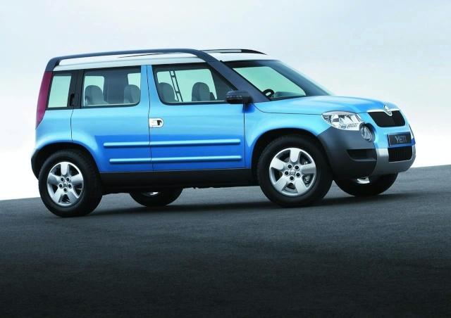 Skoda to Unveil Yeti at Geneva Motor Show 90805115