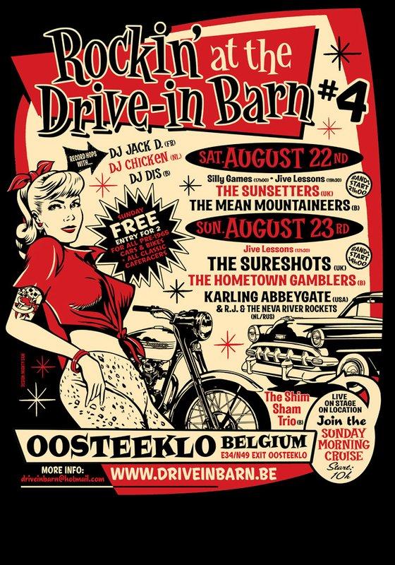 drive in barn #4 - 22 et 23 août 2009 Flyer10