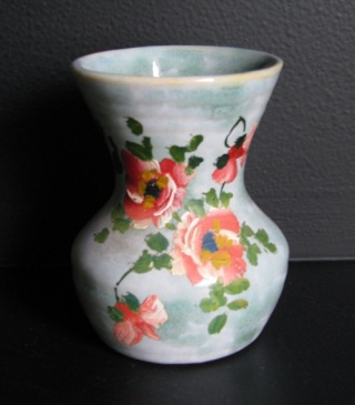 Harwyn Pottery painted Ambrico glazed ware. 41_wit10