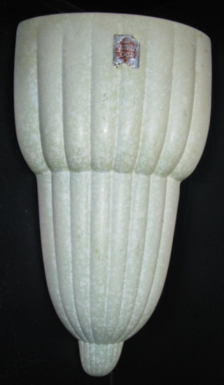 New Shape for the Crown Lynn Shapes Gallery 487 Corner Wall Vase 48710