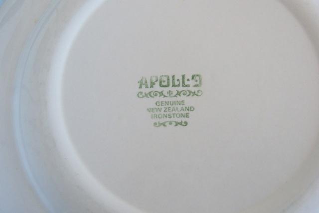 Apollo Crown Lynn Tableware Apollo12