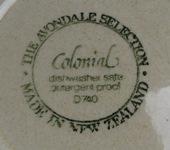 Crown Lynn Colonial Tableware Coloni11