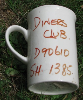 Diners Club Mug Diners10