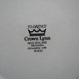 Florence Tableware by Crown Lynn Floren11