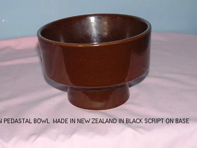 """John asks """"Is this Crown Lynn?"""" -  The pedestal pot is a Flower Beauty shape. John_s53"""