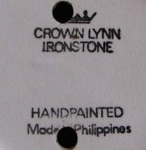 lynn - I found a Crown Lynn Ironstone Handpainted Made In Philippines today!! Made_i13