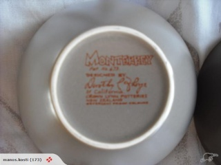 plate - Monterrey d473 by Dorothy Thorpe for Crown Lynn Monter11