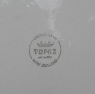 Topaz Tableware by Crown Lynn Topaz_10