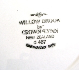 Willow Brook by Crown Lynn New Zealand Willow11