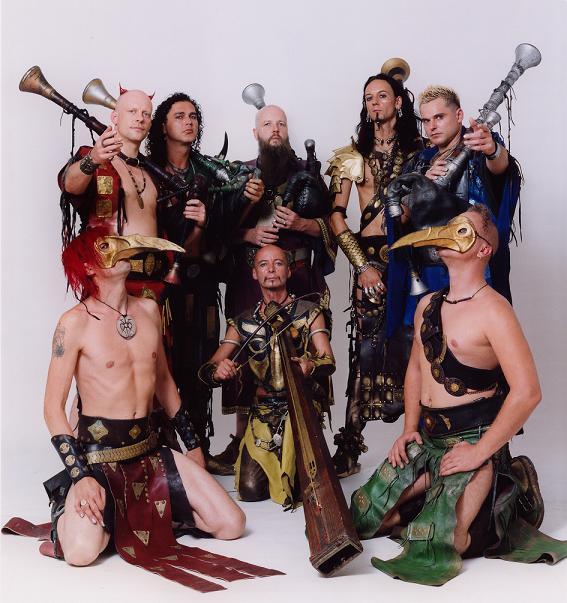 Groupe rock néo-médiéval Corvus10