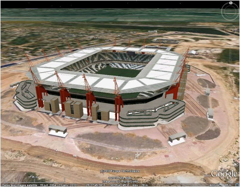 STADES COUPE DU MONDE Afrique du Sud 2010 3ddddd10