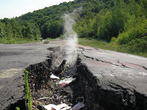 Centralia, Pennsylvanie : un incendie sous-terrain et une ville fantôme 62212410