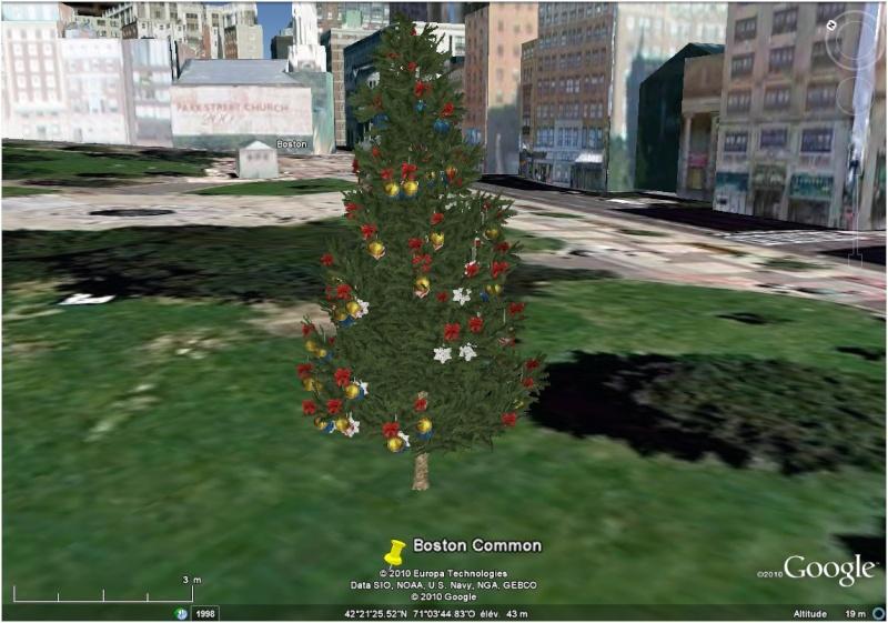 Les sapins de Noël sous Google Earth [modélisation 3D] Boston10