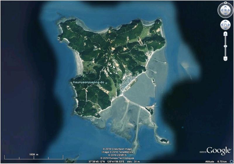 Echange de tirs entre les deux Corées Corae10