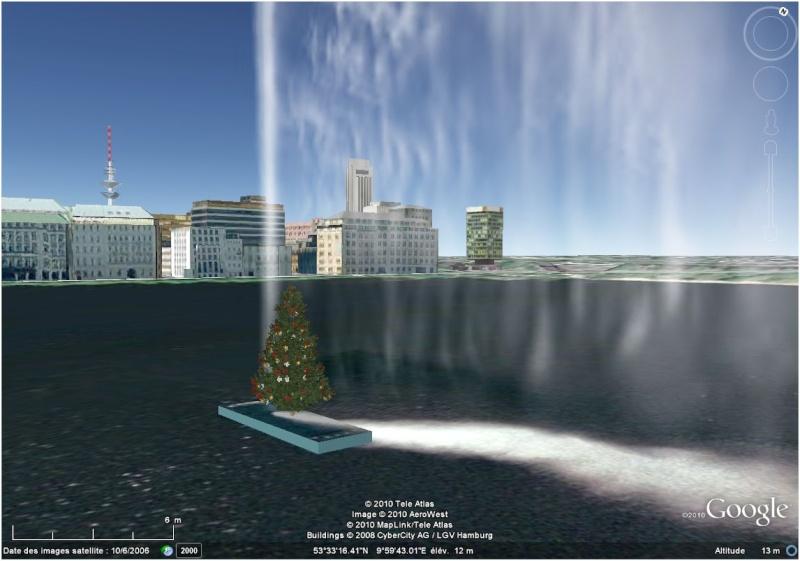 Les sapins de Noël sous Google Earth [modélisation 3D] Fontai10