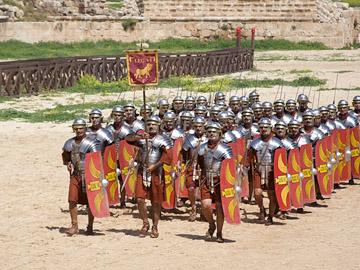 STREET VIEW : Centurion Rome Italie Jerash10