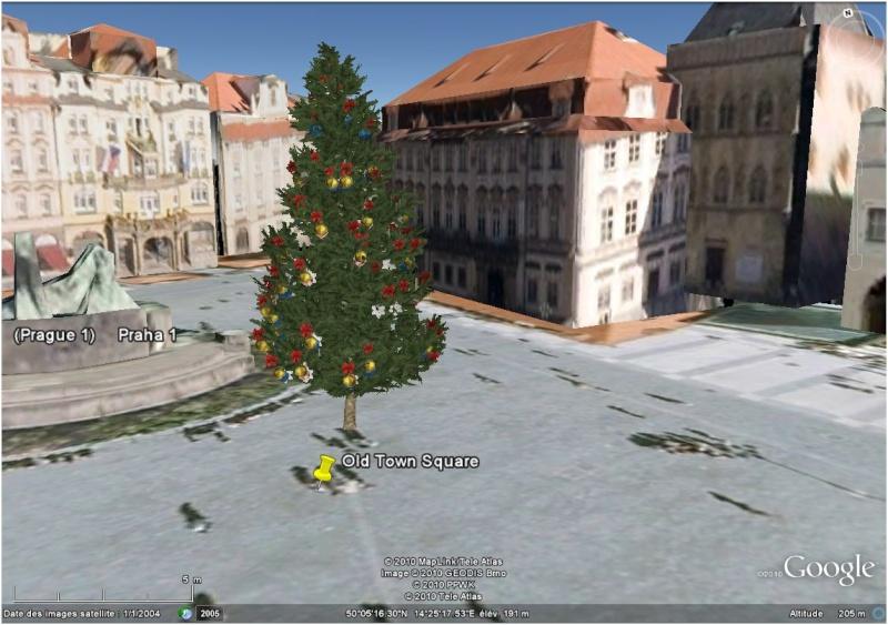 Les sapins de Noël sous Google Earth [modélisation 3D] Paragu10