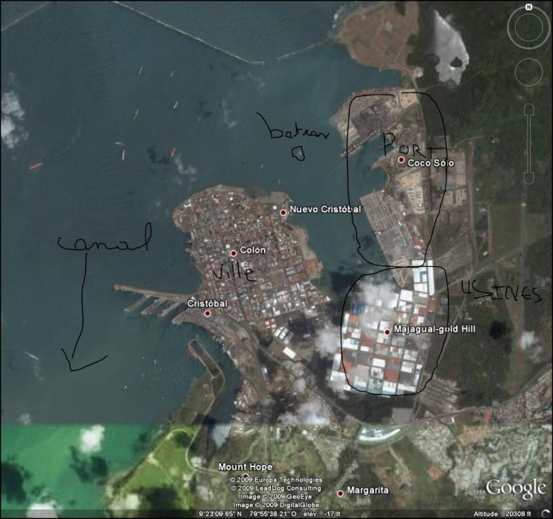 bateau pompier, Colon, Panama Refrfr10