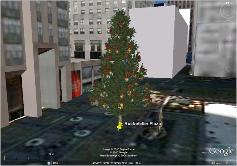 Les sapins de Noël sous Google Earth [modélisation 3D] Rockfe10