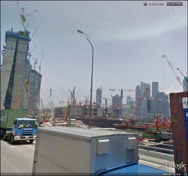 STREET VIEW : grues en pagaille à Singapour Singap10