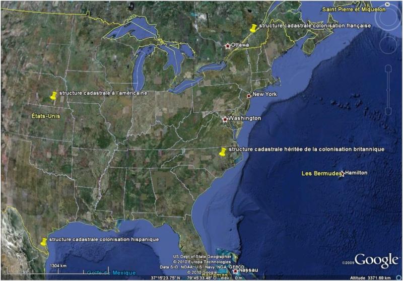 Structures cadastrales en Amérique du Nord Struct10