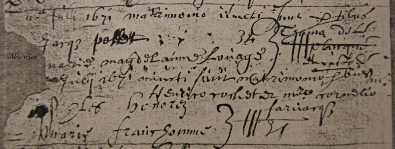 x 1712 x1735 x 1671 à Tourcoing 1671-610