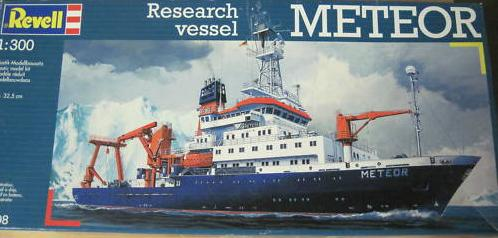 Meteor Research Vessel Revell 1:300 Meteor11