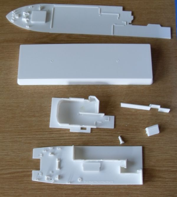 Meteor Research Vessel Revell 1:300 Meteor16