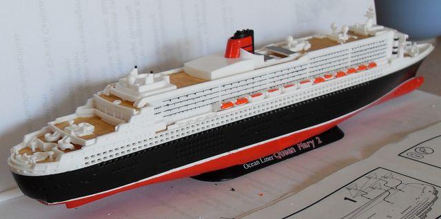 """Queen Mary 2  in 1:1200 von Revell """"FERTIG"""" Qm_2310"""