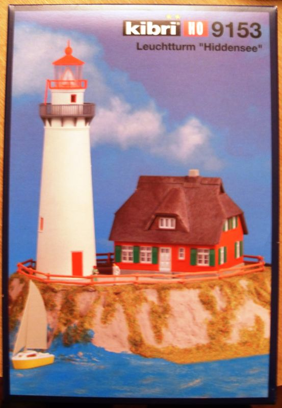"Leuchtturm ""Hiddensee""  KIBRI 1:87  FERTIG Sdc10124"