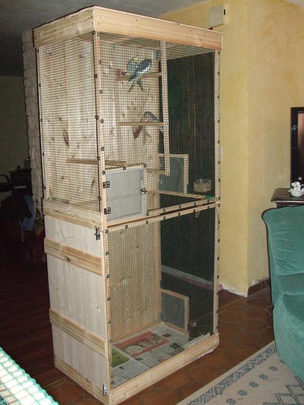 Construction de la volière pour mes Kakariki 2009_010